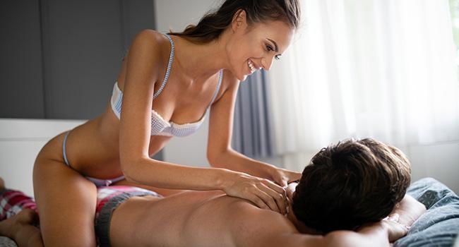Un massage sensuel en couple